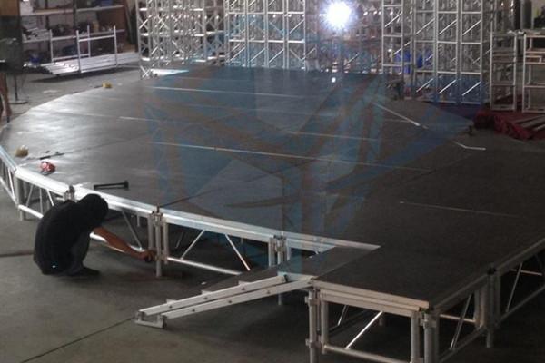 铝合金升降舞台